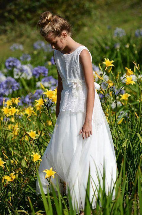 Vestido de comunión de temporada Aliana