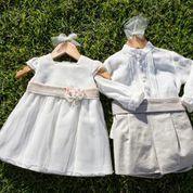 Vestidos y trajes de bautizo