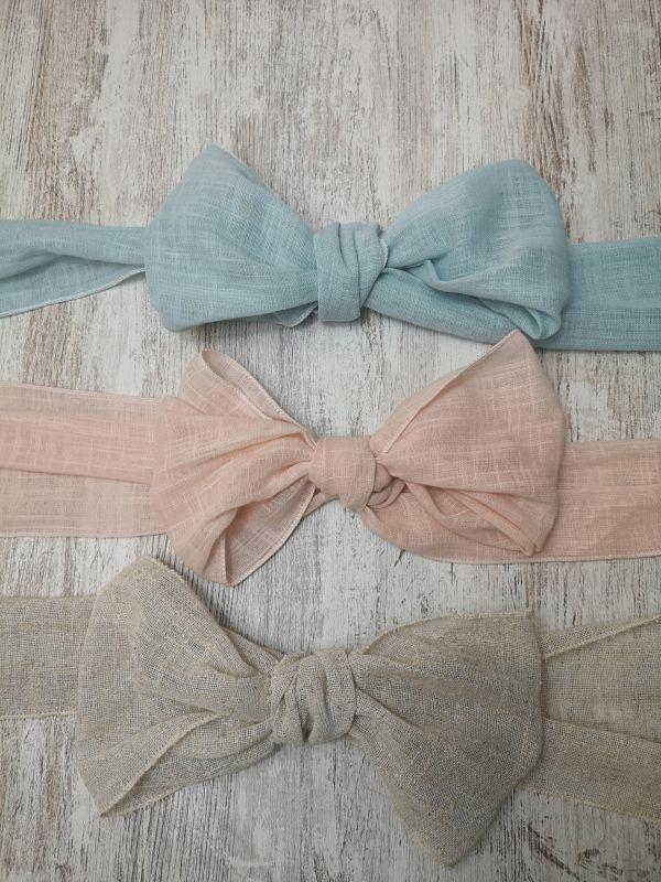 lazadas para vestidos hechas a mano Aliana Comunión