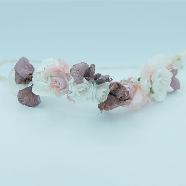 emicorona flores rosa comunion aliana
